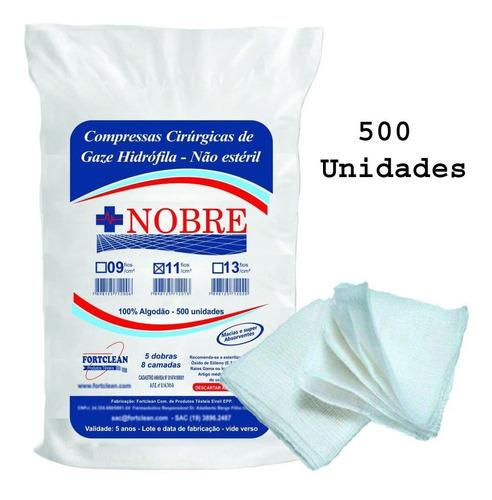 Compressa Gaze Hidrofila Não Estéril 11 Fios 180 Gramas