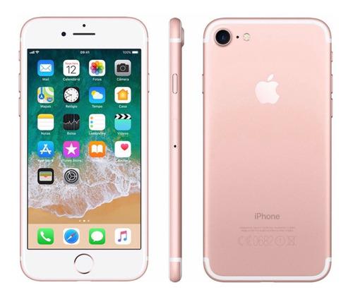 Imagem 1 de 1 de Celular iPhone 7 32 Gb Rosê