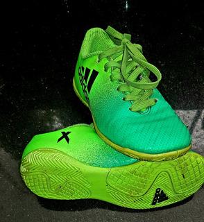 Chuteira adidas X 16.4 - Futsal - Tamanho 27