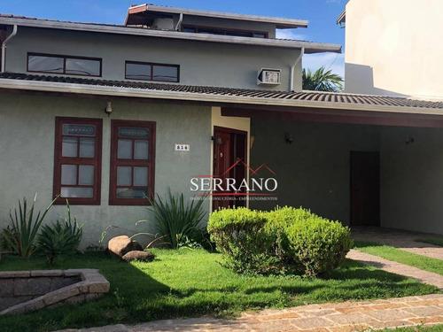 Imagem 1 de 30 de Casa Com 3 Dormitórios À Venda, 197 M² Por R$ 1.300.000,00 - Loteamento Caminhos De San Conrado (sousas) - Campinas/sp - Ca0819