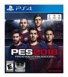 Pes 2018 Pro Evolution Soccer Ps4