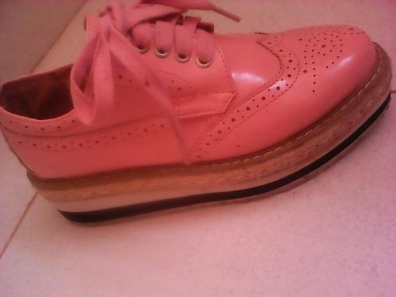Zapatos Oxford Importados 18 Verd Usados En Perfecto Estado