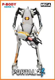 Portal 2: P-body. Neca. 2014.