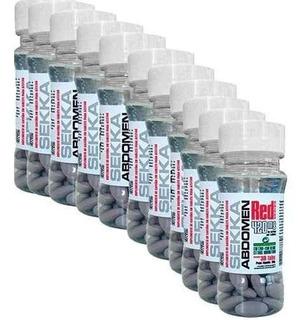 10 X Sekka Abdomen (300 Tablets) Seca Barriga Termogênico