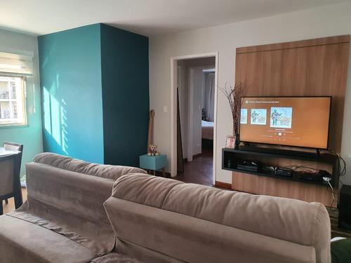 Apartamento 85 Metros 2 Dormitórios 2 Banheiros Quarto Empregada 1 Vaga . Na Compra, Ganhe Um Projeto Arquitetônico! - 15858