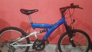 Bicicleta Venzo Rodado 20 Con Cambio Y Amortiguadores