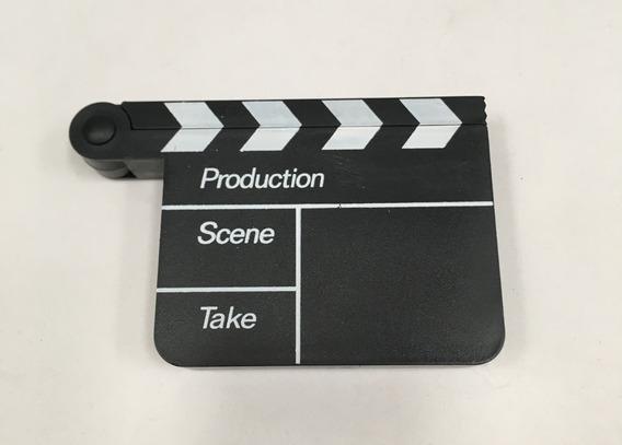 Adorno Miniclaqueta De Cine 11,5x7,5cm