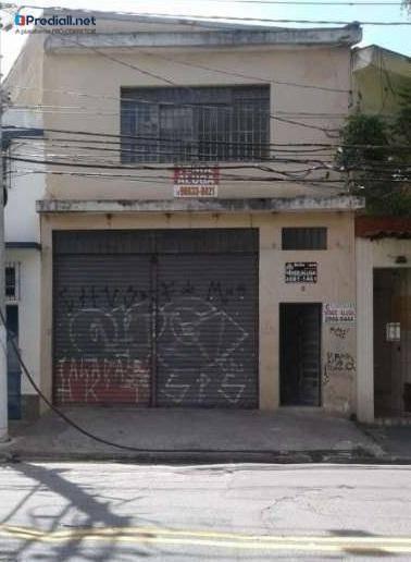 Galpão Sobrado Comercial De 2316 Metros Quadrados Em Aclimação-são Paulo-sp - Ga0075