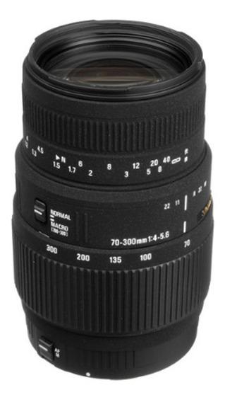 Lente Sigma 70-300mm F/4-5.6 Dg Macro Para Canon