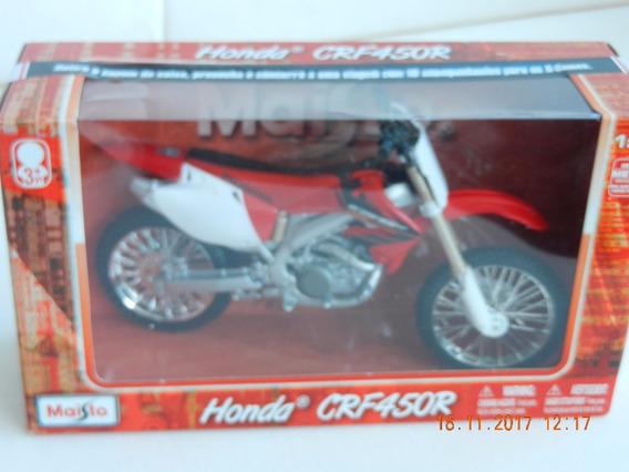 Moto Honda Crf450r - Maisto