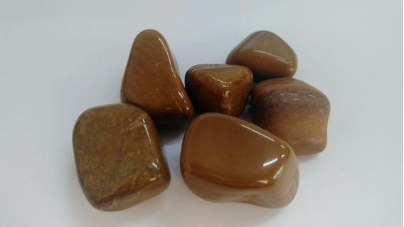 Monte Seu Kit De Pedras Roladas Naturais De 6,00 Cada Pedra