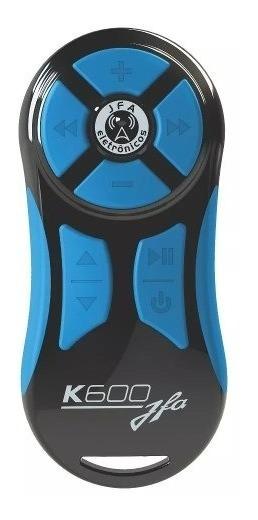 Controle Longa Distancia Jfa Preto / Azul K600