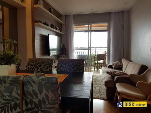 Apartamento Com 3 Dormitórios À Venda, 70 M² Por R$ 550.000,00 - Vila Gonçalves - São Bernardo Do Campo/sp - Ap0052