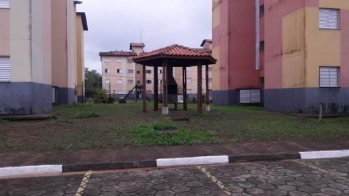Apartamento Em Itanhaém Condomínio Fechado, Ref. 4348 S