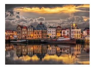Amsterdam Canales De Ensueño 1000 Pz Rompecabezas Clementoni