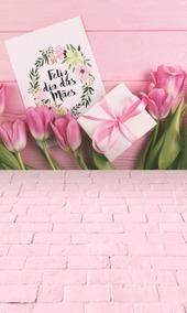 Fundo Fotográfico Dia Das Mães 6 Em Tecido 1,50x2,20m