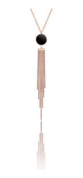 Collar Liquidación Kingsman Uroboros Collar Oro Rosa 18k