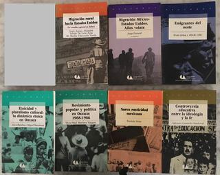 7 Libros Coleccion Regiones Conaculta