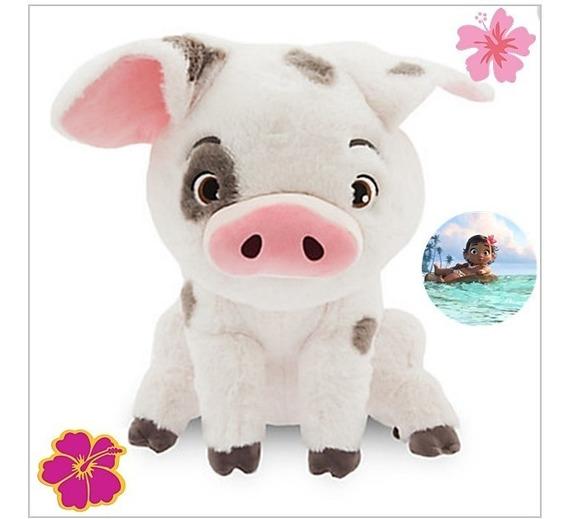 Pua Porco Pelúcia Porquinho Moana Disney Store23cm- Promocao