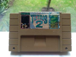 Tetris 2 Super Nintendo Snes