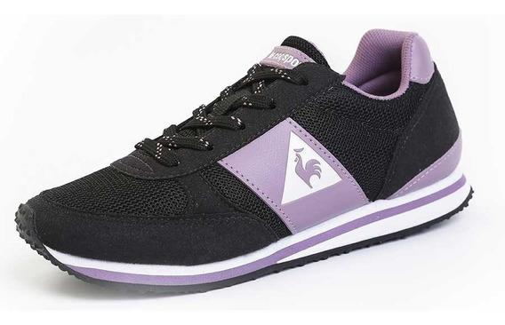 Zapatillas Le Coq Sportif Niño Kl Runner Ps Black-lilac