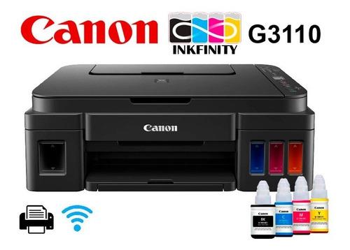 Impresora Canon G3110 Sistma Orginal Multifun 3años G + Wifi