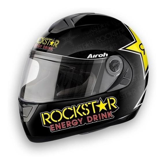 Capacete Airoh Integral Aster-x Rockstar 1400gr Capacete Top