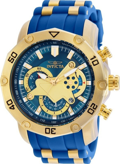 Relógio Invicta Pro Diver 22798 Banhado Ouro Envio 24hs