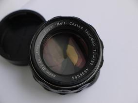 Lente Super Multi Coated Takumar Pentax 50mm 1.4 M42