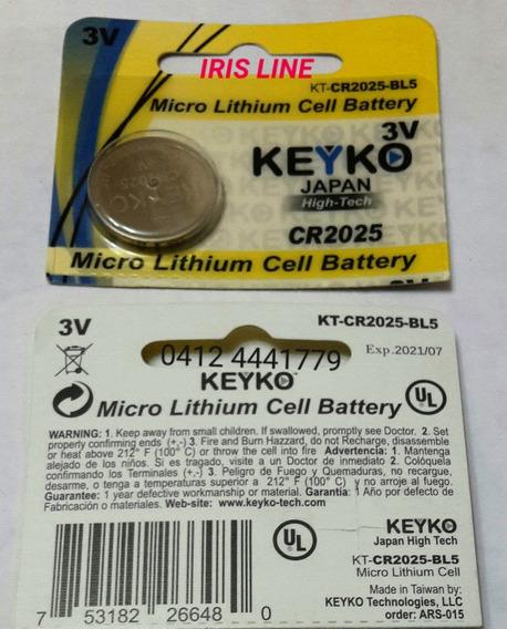 Pila Bateria Cr 2025 Cr 2016 3v Keyko Precio Real X 10 Pilas