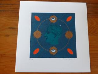 Grabados Serigrafía Serie Ecuatorial Rodrigo Cabezas 81/120