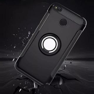 Forro Xiaomi Redmi 4x Con Anillo Giratorio (7vrdes)