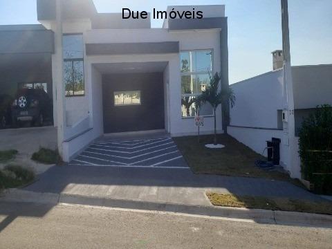 Imagem 1 de 24 de Linda Casa Térrea No Condomínio Mantova - Ca02266 - 69362615