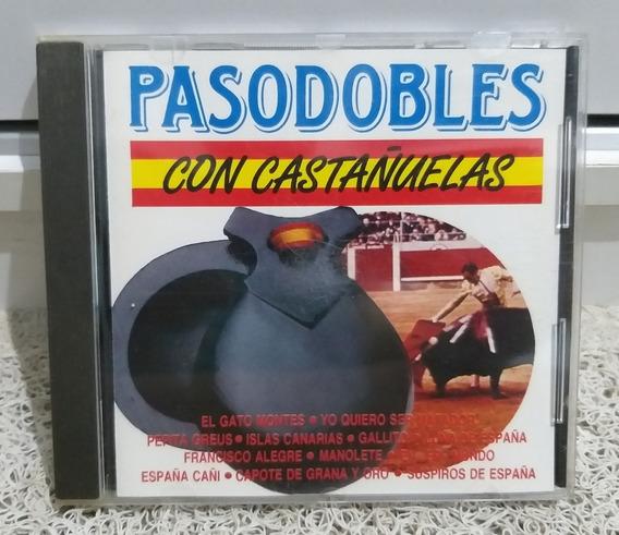 Cd Pasodobles Con Castanuelas Rarissimo Frete R$ 13)