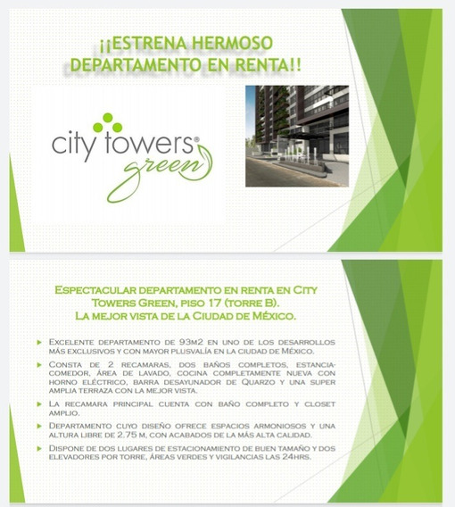 Depa City Towers Trato Directo Negociable