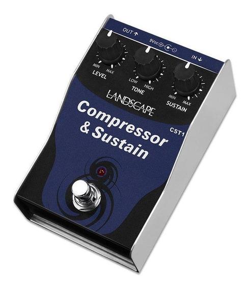 Pedal Guitarra Landscape Compressor Sustain Cst1