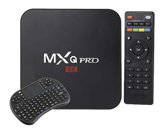 Tv Box Mxq 2gb Ram 16gb Android 7.1 Hdmi + Teclado Wireless