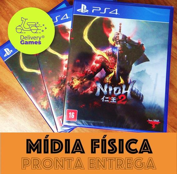 Nioh 2 Ps4 Midia Fìsica Lacrado Novo Original C Nota Fiscal