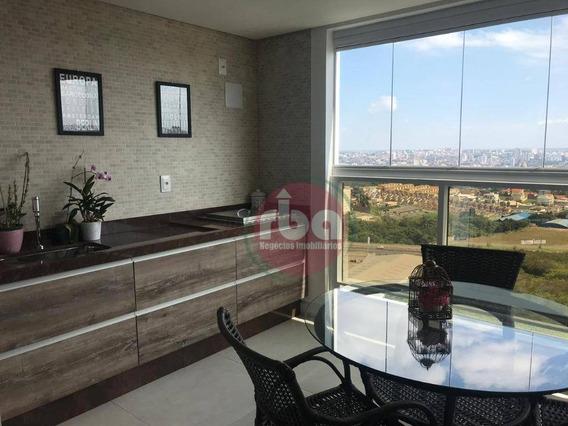 Apartamento Para Alugar, 126 M² Por R$ 5.000,00/mês - Parque Campolim - Sorocaba/sp - Ap0663