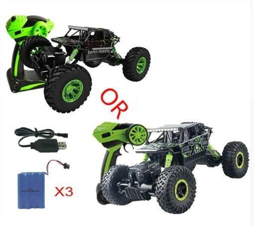 Carro Controle Remoto 4x4 Rocha Crawler 2.4ghz Pronta Entreg