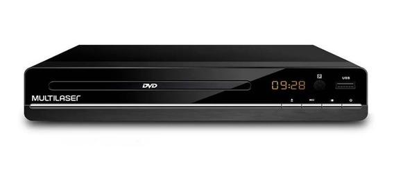 Dvd Player Multimídia Bivolt Cd/dvd/pendrive Ripping Sp252