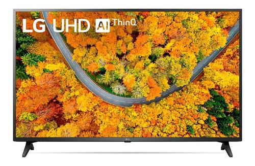 Imagem 1 de 7 de Smart Tv LG 50 4k Uhd Up7550psf Hdr Ai Thinq Preto