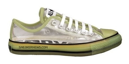 Converse All Star Ox Clear Transparentes Edicion Limitada