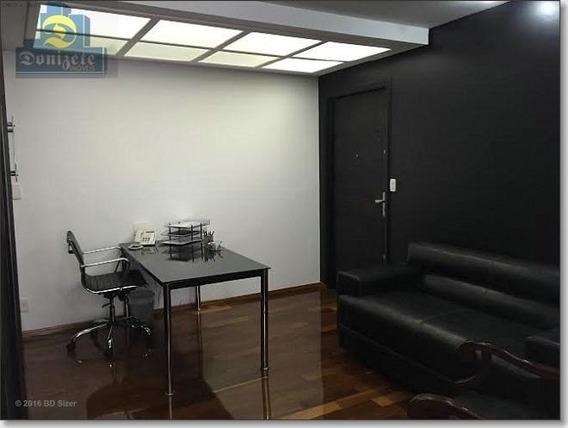 Sala À Venda, 110 M² Por R$ 650.000,00 - Centro - Santo André/sp - Sa0049