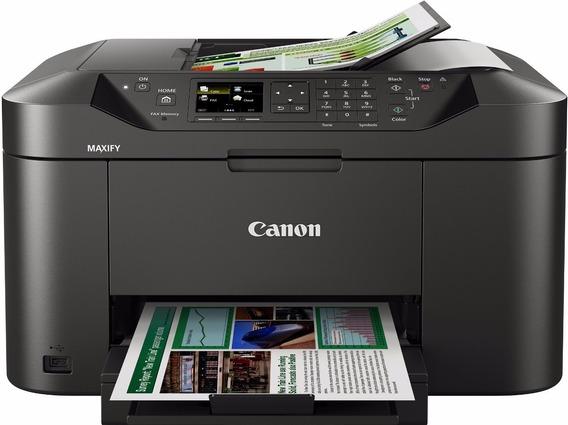 Impressora Canon Mb2010 Colorida Imprimi Frente/verso Wifi