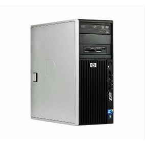 Workstation Hp Z400 Xeon W3505 16gb + 2 Monitores Hp La2405x