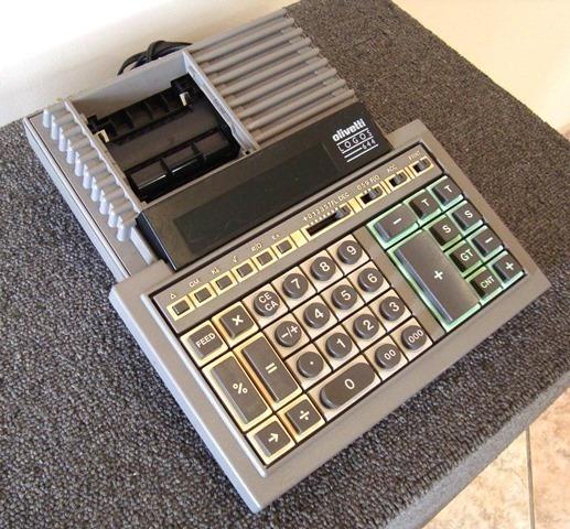 Calculadora De Mesa Marca Olivetti Logos 644 - Usada