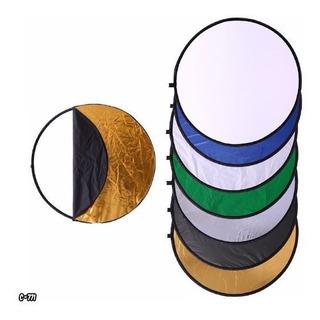 Flex Reflector Luz Flash 7 Colores En 1 60cm Video Y Fo