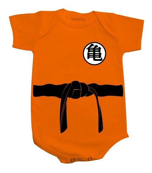 Body Bebê Goku Dragon Ball Z Bodies Bori Infantil