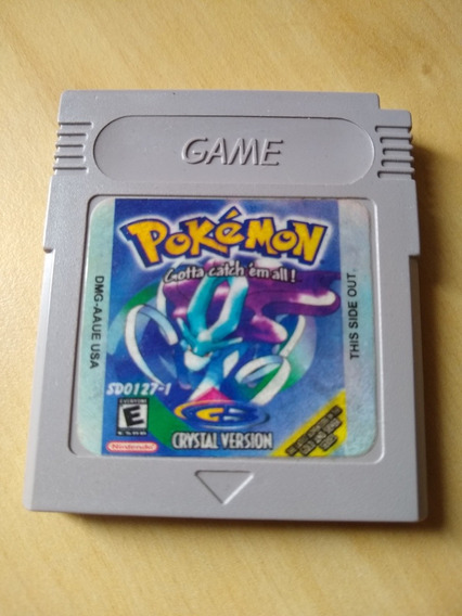 Cartucho Pokemon Crystal Para Game Boy Color / Advance Patch